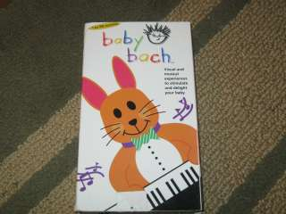 Baby Bach VHS, For baby 1 36 mos, Baby Einstein Company