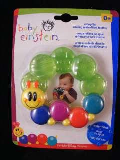 Disney Baby Einstein Caterpillar Rattle & Teether 0 3 6 074451307230