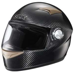 Full Face Motorcycle Street Helmet Carbon Black Small Automotive
