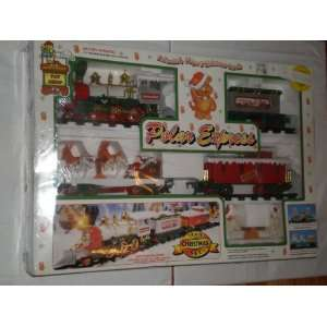 Animated Polar Express Christmas Train Set: Toys & Games