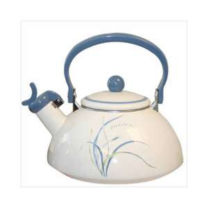 Impressions Coastal Breeze Whistling Tea Kettle 80 oz. Appliances