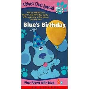 Closing To Blue's Clues: Blue's Birthday 1998 VHS - VidInfo
