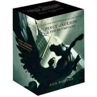 Percy Jackson Pbk 5 Book Boxed Set, Riordan, Rick