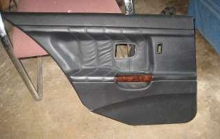 BMW E36 Left Rear Door Panel Black 4dr 318i 328i M3