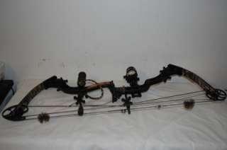 Elie Archery Aigil RH Compound Bow 28 70# wih Exras |