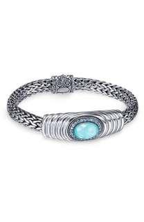 John Hardy Batu Bedeg Oval Station Chain Bracelet