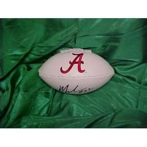 Nick Saban Hand Signed Autographed Alabama Crimson Tide Full Size