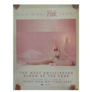 Nicki Minaj 2 Sided Poster Pink Nicky