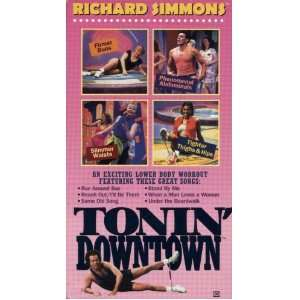 Richard Simmons Tonin Downtown An Exciting Lower Body Workout