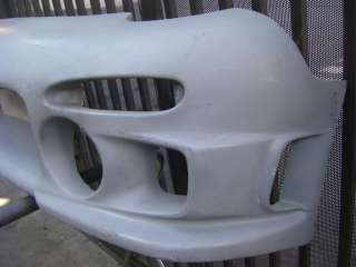 Auction is for a used 1993 1997 Mazda RX 7 front bumper fiberglass