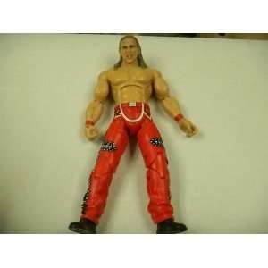 WWF Wrestling Shawn Michaels Action Figure with Red Pants
