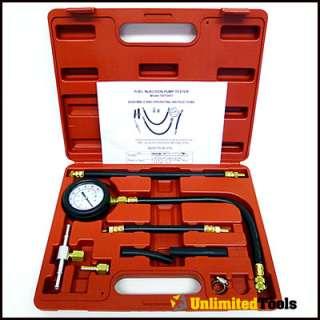 Fuel injection pump pressure gauge Test gasoline fuel pump pressure on