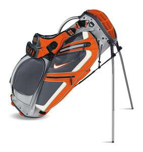NIKE PERFORMANCE CARRY Golf Bag   SILVER/SWAN/SAFETY ORANGE