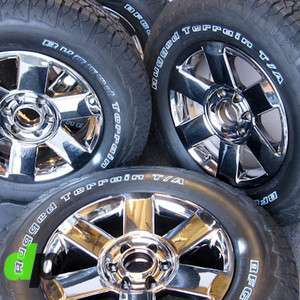 Armada Factory/OEM EcoDriven Chrome Wheels/Rim BFGoodrich Tires