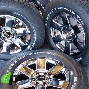 Armada Factory/OEM EcoDriven Chrome Wheels/Rim BFGoodrich Tires