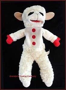 2002 Shari Lewis Lamb Chop 18 Hand Puppe Plush Aurora Sof Furry