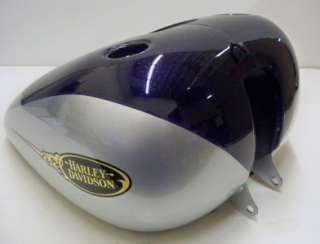 Harley Davidson Fuel Gas Tank Purple Flake & Silver 62292 09CWS 2009