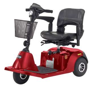 Daytona 3 Wheel electric Mobility Scooter (Red)