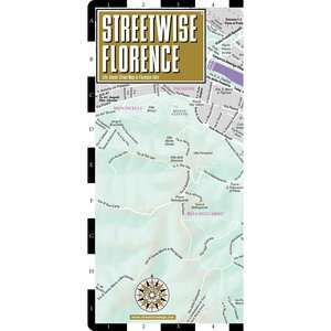 Streetwise Florence Map   Laminated City Center Street Map of Florence