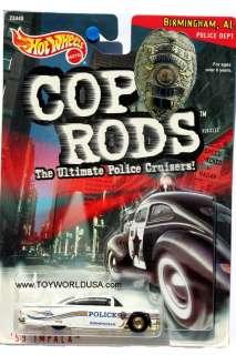 1999 Hot Wheels Cop Rods Birmingham, Alabama 1959 Chevrolet Impala