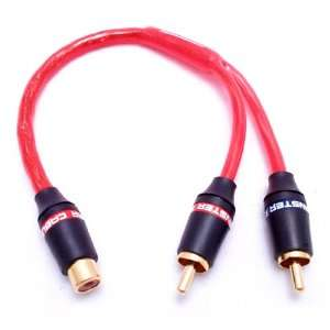 Monster Cable IL101 XLN Y 1F (1) Female to (2) Male Audio