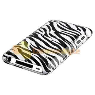 Colorful+Black Peace+Zebra Case for iPod ouch 4h Gen |