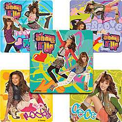 IT UP Rocky Cece Dance Stickers Birthday Party Goody Bag Favor Supply
