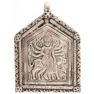 Goddess Bhavani Pendant   Sterling Silver: Everything Else
