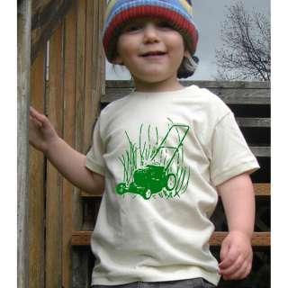 Lawn Mower American Apparel Organic Toddler T Shirt