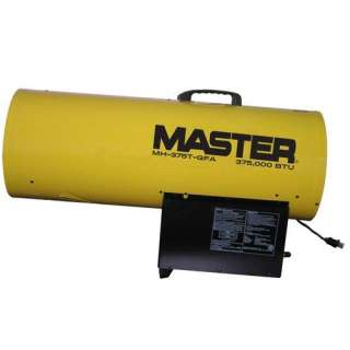 Master 375000 BTU Propane Forced Air Heater with