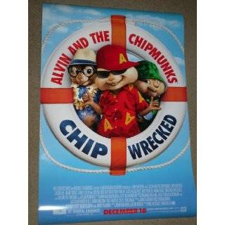 ALVIN AND THE CHIPMUNKS CHIPWRECKED C (minor imperfections) 27X40