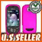 ROSE PINK RUBBERIZED CASE FOR NOKIA 7230 COVER SNAP ON PROTECTOR