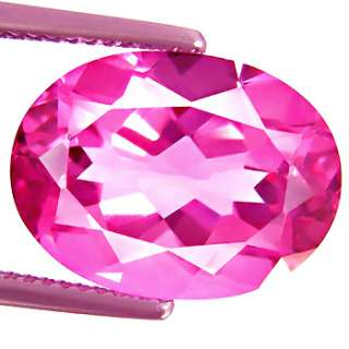 NATURAL EARTH MINED TOPAZ AAA PINK STABLE COLOR ENHANCED BRAZIL