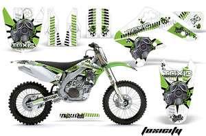 AMR RACING OFF ROAD MOTORCYCLE GRAPHIC STICKER MX KIT KAWASAKI KXF 450