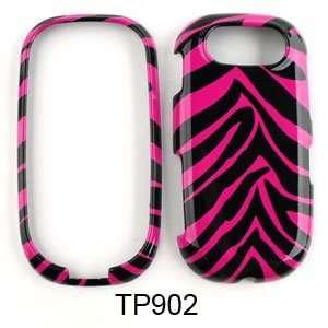 Pantech Ease P2020 Pink Zebra Skin Hard Case/Cover