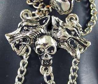 Punk Rock SKull Pirate Slave Bracelet Belly Dance Claw Ring S71109