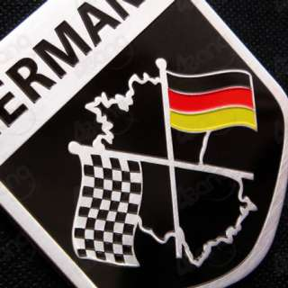 Germany F1 Formula One Stainless Steel Sticker Emblem