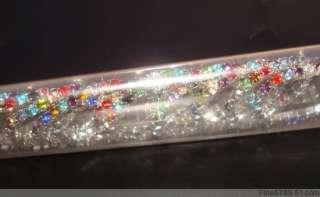 Lots 12Pcs 1Row Color Crystal Rhinestone Toe Rings
