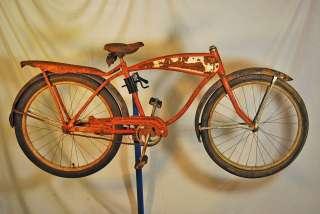 Vintage Shelby Traveler juvenile kids cruiser bike 24 bicycle rat rod